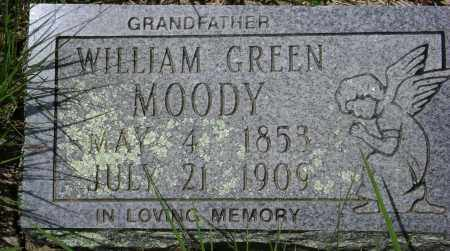 MOODY, WILLIAM GREEN - Sharp County, Arkansas | WILLIAM GREEN MOODY - Arkansas Gravestone Photos