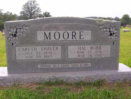SHAVER MOORE, CARUTH - Sharp County, Arkansas | CARUTH SHAVER MOORE - Arkansas Gravestone Photos