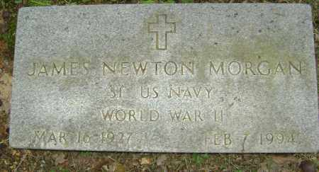 MORGAN (VETERAN WWII), JAMES NEWTON - Sharp County, Arkansas | JAMES NEWTON MORGAN (VETERAN WWII) - Arkansas Gravestone Photos