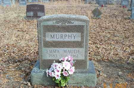 MURPHY, EMMA MAUD - Sharp County, Arkansas | EMMA MAUD MURPHY - Arkansas Gravestone Photos