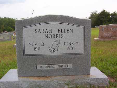 NORRIS, SARAH ELLEN - Sharp County, Arkansas | SARAH ELLEN NORRIS - Arkansas Gravestone Photos