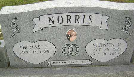 NORRIS, VERNITA C - Sharp County, Arkansas | VERNITA C NORRIS - Arkansas Gravestone Photos