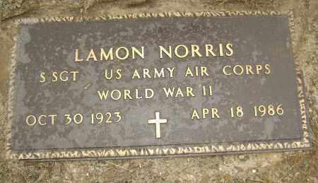 NORRIS (VETERAN WWII), LAMON - Sharp County, Arkansas | LAMON NORRIS (VETERAN WWII) - Arkansas Gravestone Photos