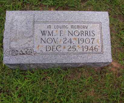 NORRIS, WILLIAM F. - Sharp County, Arkansas | WILLIAM F. NORRIS - Arkansas Gravestone Photos