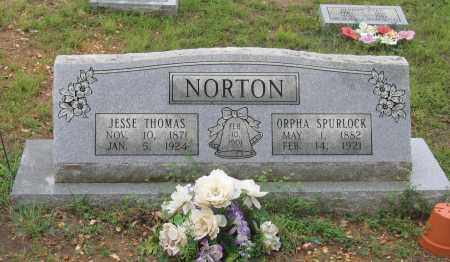 SPURLOCK NORTON, ORPHA - Sharp County, Arkansas | ORPHA SPURLOCK NORTON - Arkansas Gravestone Photos