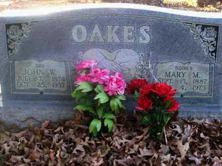 LESTER OAKES, MARY - Sharp County, Arkansas | MARY LESTER OAKES - Arkansas Gravestone Photos