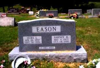 EASON, BARNEY B. - Sharp County, Arkansas | BARNEY B. EASON - Arkansas Gravestone Photos