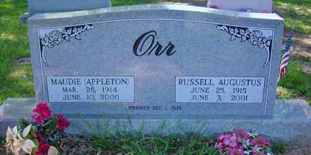APPLETON ORR, MAUDIE - Sharp County, Arkansas | MAUDIE APPLETON ORR - Arkansas Gravestone Photos