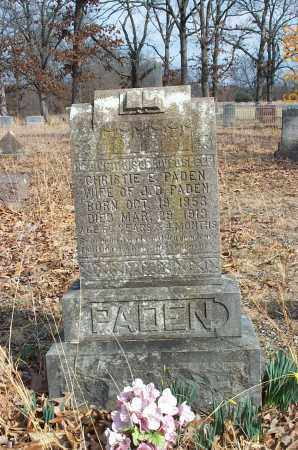 KING PADEN, CHRISTIE E. - Sharp County, Arkansas | CHRISTIE E. KING PADEN - Arkansas Gravestone Photos