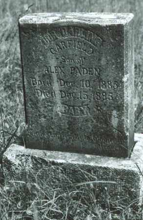 PADEN, GARFIELD - Sharp County, Arkansas | GARFIELD PADEN - Arkansas Gravestone Photos