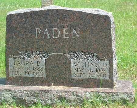 PADEN, WILLIAM DOW - Sharp County, Arkansas | WILLIAM DOW PADEN - Arkansas Gravestone Photos