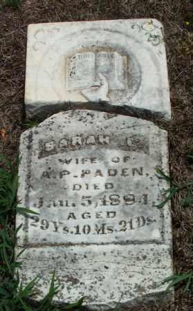 PADEN, SARAH E. - Sharp County, Arkansas | SARAH E. PADEN - Arkansas Gravestone Photos