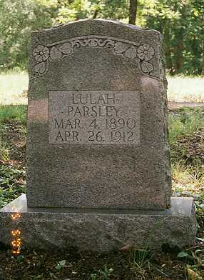 PARSLEY, LULAH - Sharp County, Arkansas | LULAH PARSLEY - Arkansas Gravestone Photos