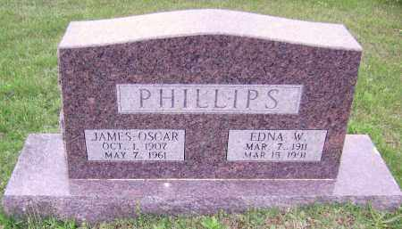 PHILLIPS, JAMES OSCAR - Sharp County, Arkansas | JAMES OSCAR PHILLIPS - Arkansas Gravestone Photos