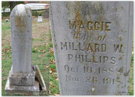 PHILLIPS, MAGGIE - Sharp County, Arkansas | MAGGIE PHILLIPS - Arkansas Gravestone Photos