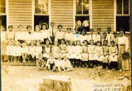 *SCHOOL 1909,  - Sharp County, Arkansas |  *SCHOOL 1909 - Arkansas Gravestone Photos