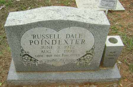POINDEXTER, RUSSELL DALE - Sharp County, Arkansas | RUSSELL DALE POINDEXTER - Arkansas Gravestone Photos