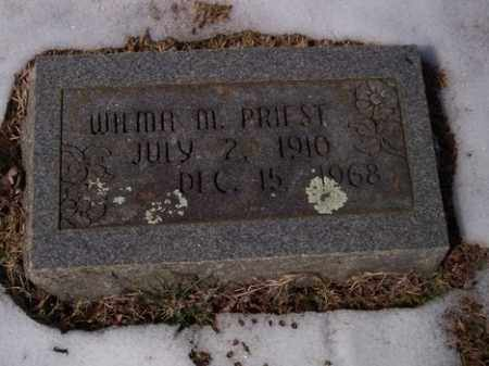 STIDHAM PRIEST, WILMA MAYE - Sharp County, Arkansas | WILMA MAYE STIDHAM PRIEST - Arkansas Gravestone Photos