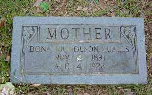 QUALLS, DONA - Sharp County, Arkansas | DONA QUALLS - Arkansas Gravestone Photos
