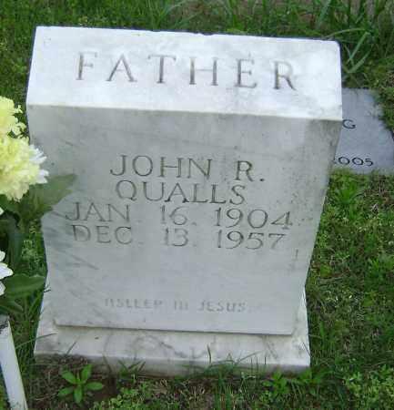 QUALLS, JOHN R - Sharp County, Arkansas | JOHN R QUALLS - Arkansas Gravestone Photos