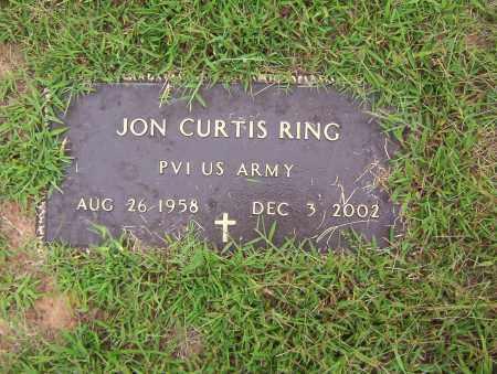 RING (VETERAN), JON CURTIS - Sharp County, Arkansas   JON CURTIS RING (VETERAN) - Arkansas Gravestone Photos