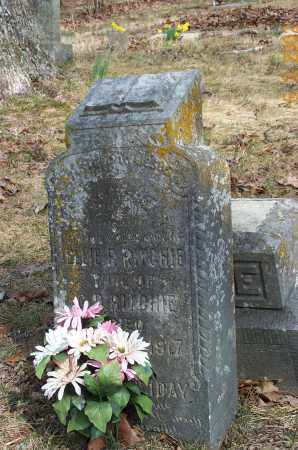 RITCHIE, ELLEN FLORENCE - Sharp County, Arkansas | ELLEN FLORENCE RITCHIE - Arkansas Gravestone Photos