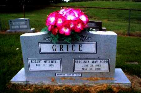 FORD GRICE, VIRGINIA MAY - Sharp County, Arkansas | VIRGINIA MAY FORD GRICE - Arkansas Gravestone Photos