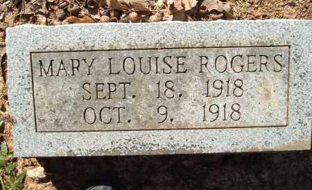 ROGERS, MARY LOUISE - Sharp County, Arkansas | MARY LOUISE ROGERS - Arkansas Gravestone Photos