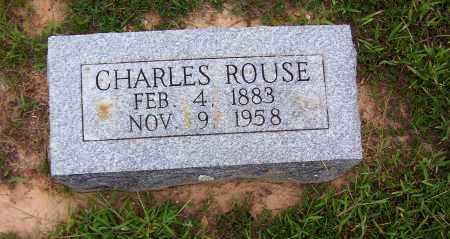 ROUSE, CHARLES - Sharp County, Arkansas | CHARLES ROUSE - Arkansas Gravestone Photos