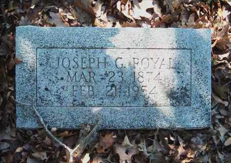 ROYAL, JOSEPH GARDNER - Sharp County, Arkansas | JOSEPH GARDNER ROYAL - Arkansas Gravestone Photos
