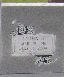 RUSSELL, CYTHA H (CLOSEUP) - Sharp County, Arkansas | CYTHA H (CLOSEUP) RUSSELL - Arkansas Gravestone Photos