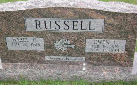 RUSSELL, OWEN L - Sharp County, Arkansas | OWEN L RUSSELL - Arkansas Gravestone Photos