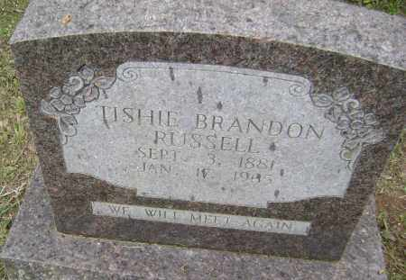 NORRIS BRANDON, TISHIE - Sharp County, Arkansas | TISHIE NORRIS BRANDON - Arkansas Gravestone Photos
