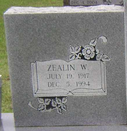 RUSSELL, ZEALIN W (CLOSEUP) - Sharp County, Arkansas | ZEALIN W (CLOSEUP) RUSSELL - Arkansas Gravestone Photos