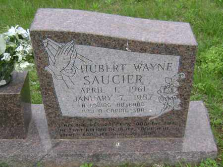 SAUCIER, HUBERT WAYNE - Sharp County, Arkansas | HUBERT WAYNE SAUCIER - Arkansas Gravestone Photos