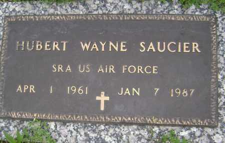 SAUCIER (VETERAN), HUBERT WAYNE - Sharp County, Arkansas | HUBERT WAYNE SAUCIER (VETERAN) - Arkansas Gravestone Photos