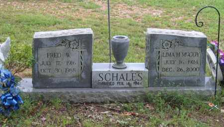 MCCOY SCHALES, LIMA - Sharp County, Arkansas | LIMA MCCOY SCHALES - Arkansas Gravestone Photos