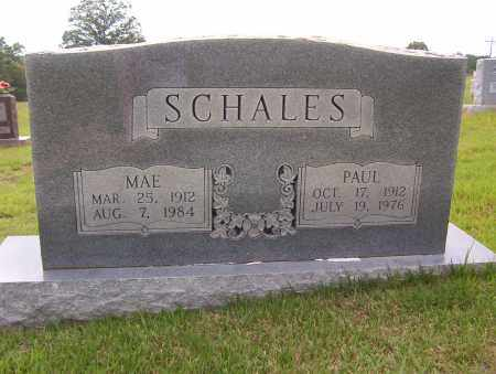 SCHALES, MAE - Sharp County, Arkansas | MAE SCHALES - Arkansas Gravestone Photos