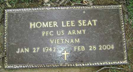 SEAT (VETERAN VIET), HOMER LEE - Sharp County, Arkansas | HOMER LEE SEAT (VETERAN VIET) - Arkansas Gravestone Photos