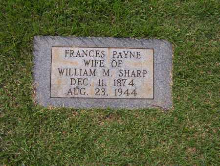SHARP, FRANCES - Sharp County, Arkansas | FRANCES SHARP - Arkansas Gravestone Photos