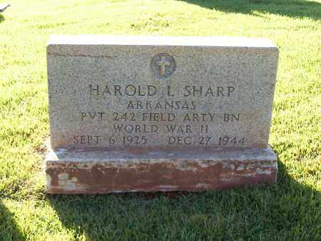 SHARP  (VETERAN WWII), HAROLD - Sharp County, Arkansas | HAROLD SHARP  (VETERAN WWII) - Arkansas Gravestone Photos