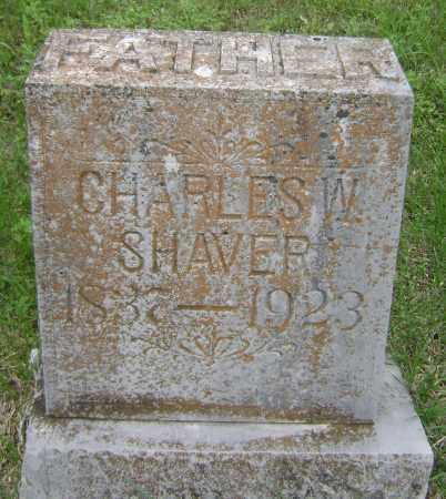 SHAVER, CHARLES W - Sharp County, Arkansas | CHARLES W SHAVER - Arkansas Gravestone Photos