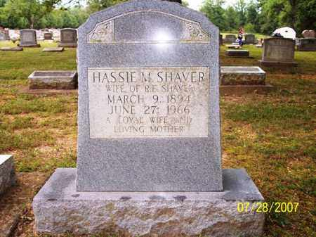 SHAVER, HASSIE M. - Sharp County, Arkansas | HASSIE M. SHAVER - Arkansas Gravestone Photos