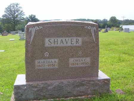 SHAVER, MARTHA A. - Sharp County, Arkansas | MARTHA A. SHAVER - Arkansas Gravestone Photos