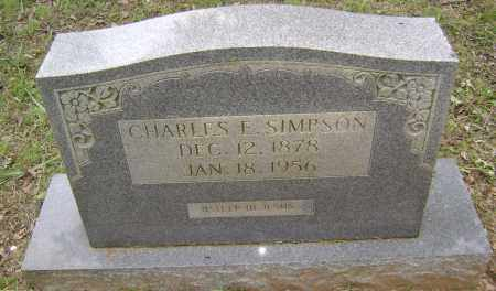 SIMPSON, CHARLES E - Sharp County, Arkansas | CHARLES E SIMPSON - Arkansas Gravestone Photos