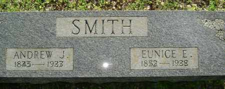 SMITH, ANDREW J. - Sharp County, Arkansas | ANDREW J. SMITH - Arkansas Gravestone Photos