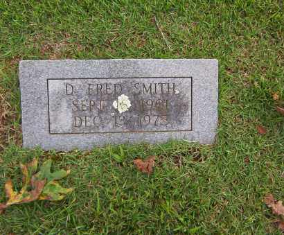 SMITH, D. FRED - Sharp County, Arkansas | D. FRED SMITH - Arkansas Gravestone Photos