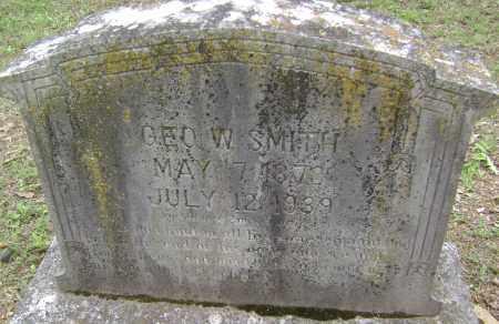 SMITH, GEORGE W - Sharp County, Arkansas | GEORGE W SMITH - Arkansas Gravestone Photos