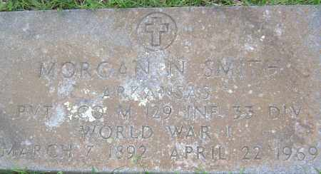 "SMITH (VETERAN WWI), MORGAN NEVIL ""MORG"" - Sharp County, Arkansas 