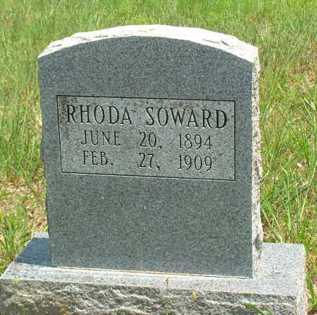SOWARD, RHODA - Sharp County, Arkansas | RHODA SOWARD - Arkansas Gravestone Photos